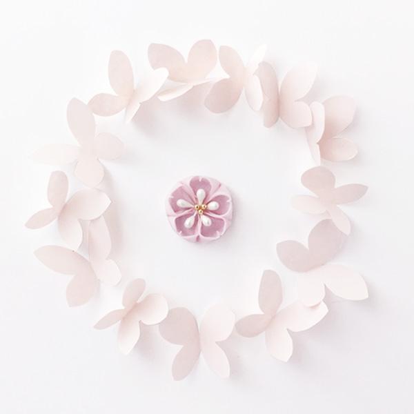 つまみ細工-桜