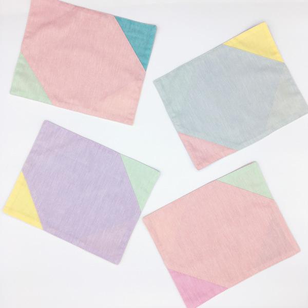 三角ランチマット