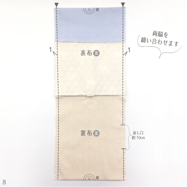 上履き袋の作り方